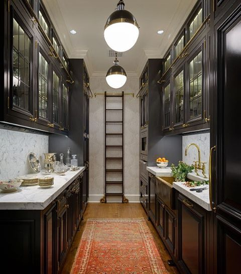 Galley Kitchen With French Doors: 10 Best Traditional Images On Pinterest