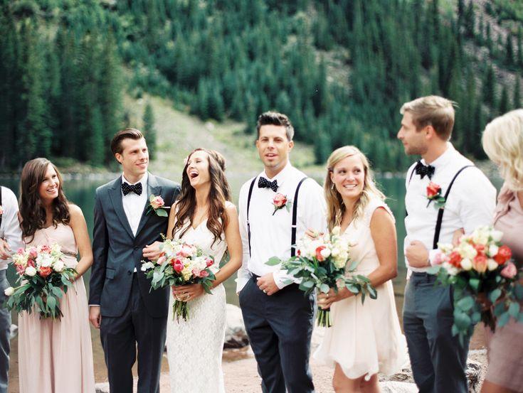 Elegant Aspen Wedding with Boho Flair  Read more - http://www.stylemepretty.com/2014/03/18/elegant-aspen-wedding-with-boho-flair/