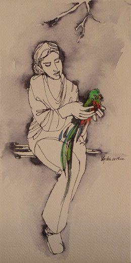 Rajski ptak - from http://www.touchofart.eu/Dorota-Kedzierska/dked18-Rajski-ptak/