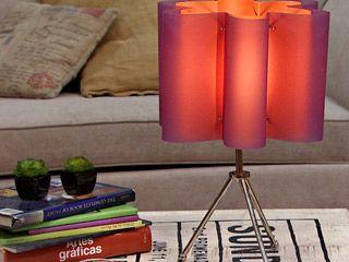 Lámpara ondulada ... Manualidades y artesanías