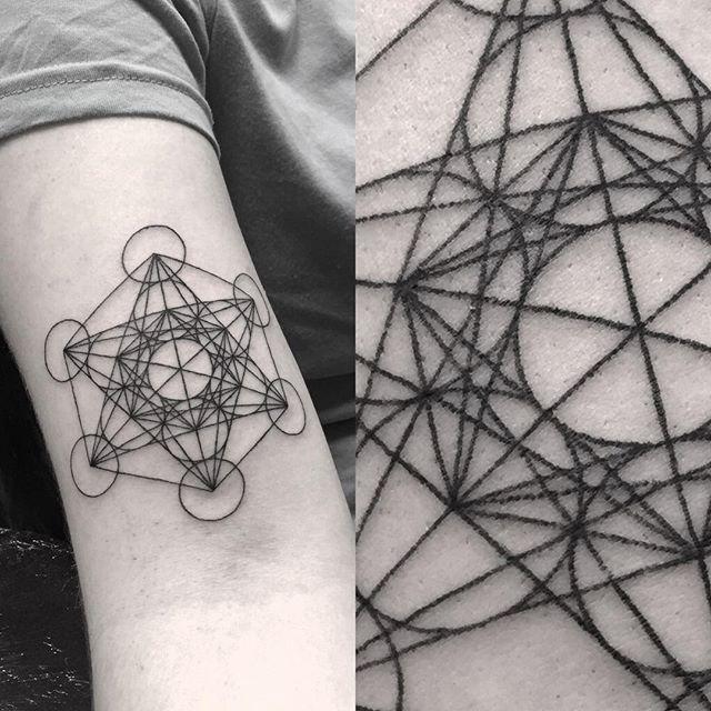 Dotted Metatron's Cube #dotworkers #dotworktattoo #dotwork #blacktattoo #blacktattooart #btattooing #darkartists #blackworkers #blackwork #blackworkerssubmission #tttism #geometry #geometrictattoo #metatronscube #sacredgeometry #northsidetattooz @northsidetattooz