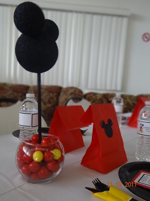 """Photo 15 of 29: Mickey Mouse / Baby Shower/Sip & See """"Cynthia & Steven's Baby Shower""""   Catch My Party"""