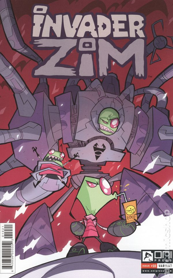 Invader Zim (2015 Oni Press) 10B