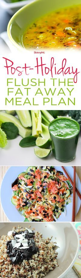 Post-Holiday Flush the Fat Away Meal Plan