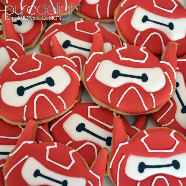Big Hero 6 (baymax) sugar biscuits