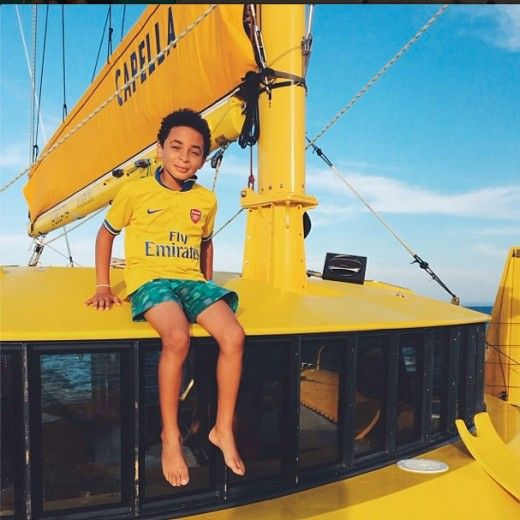 Solange's son Julez—aka the coolest celeb kid ever—sets sail in Australia
