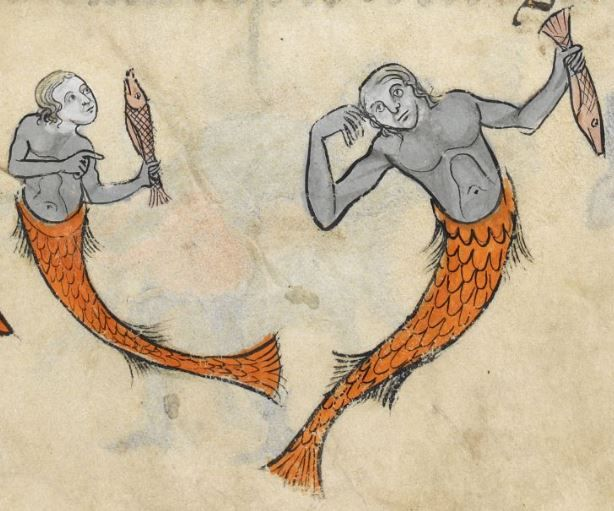 """Detail from """"The Rutland Psalter"""", medieval (c1260), British Library Add MS 62925. f 76r"""