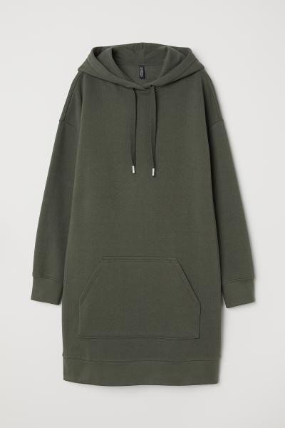 e6bcd88f0 Hooded Sweatshirt Dress in 2019   Fashion   Sweatshirt dress ...
