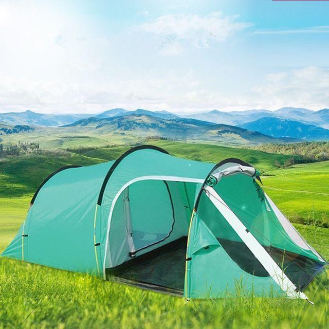 Camping senderismo impermeable tienda de campaña, mirador, toldos tienda turística tienda de campaña sol playa refugio carpa un salón y una habitación