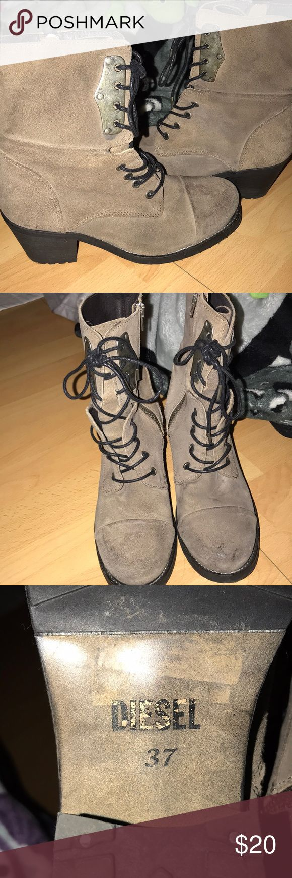 diesel boots. not fp fits 7-7.5 Free People Shoes Ankle Boots & Booties