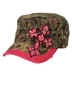 Pink Bill Camo Hat