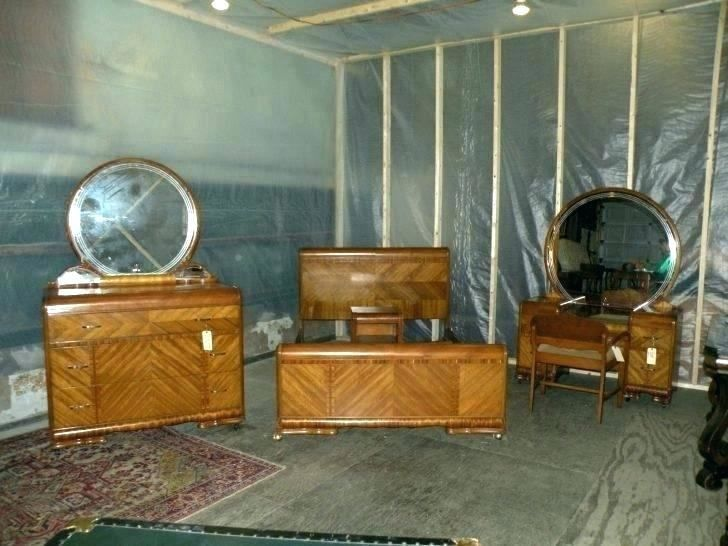 1940 S Bedroom Furniture Waterfall With Images Art Deco Bedroom Furniture Art Nouveau Bedroom Waterfall Furniture
