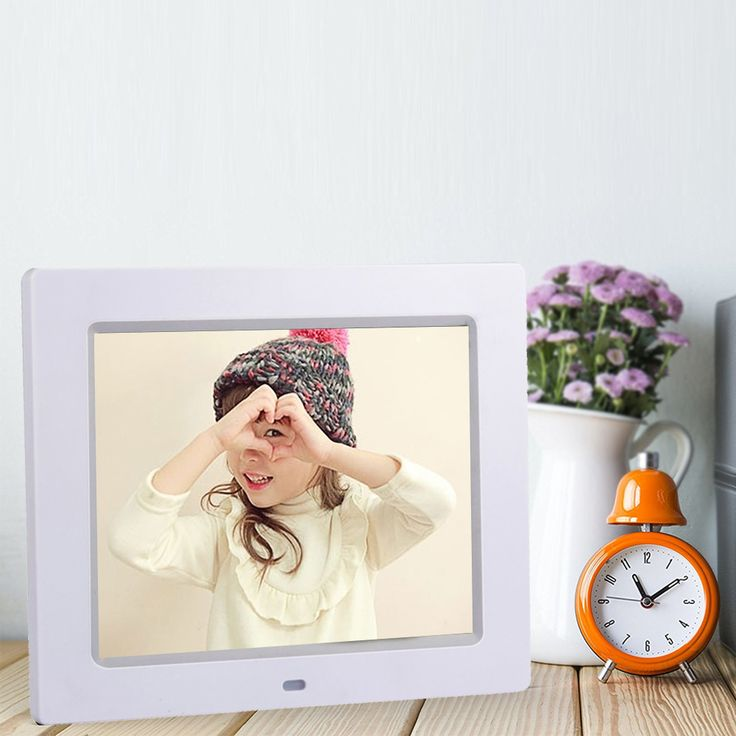 ==> [Free Shipping] Buy Best Portable Multifunction HD LED LCD Screen Digital Photo Frame Picture Video Audio Calendar Clock Functions Desk Clock Best Gift Online with LOWEST Price | 32777345203