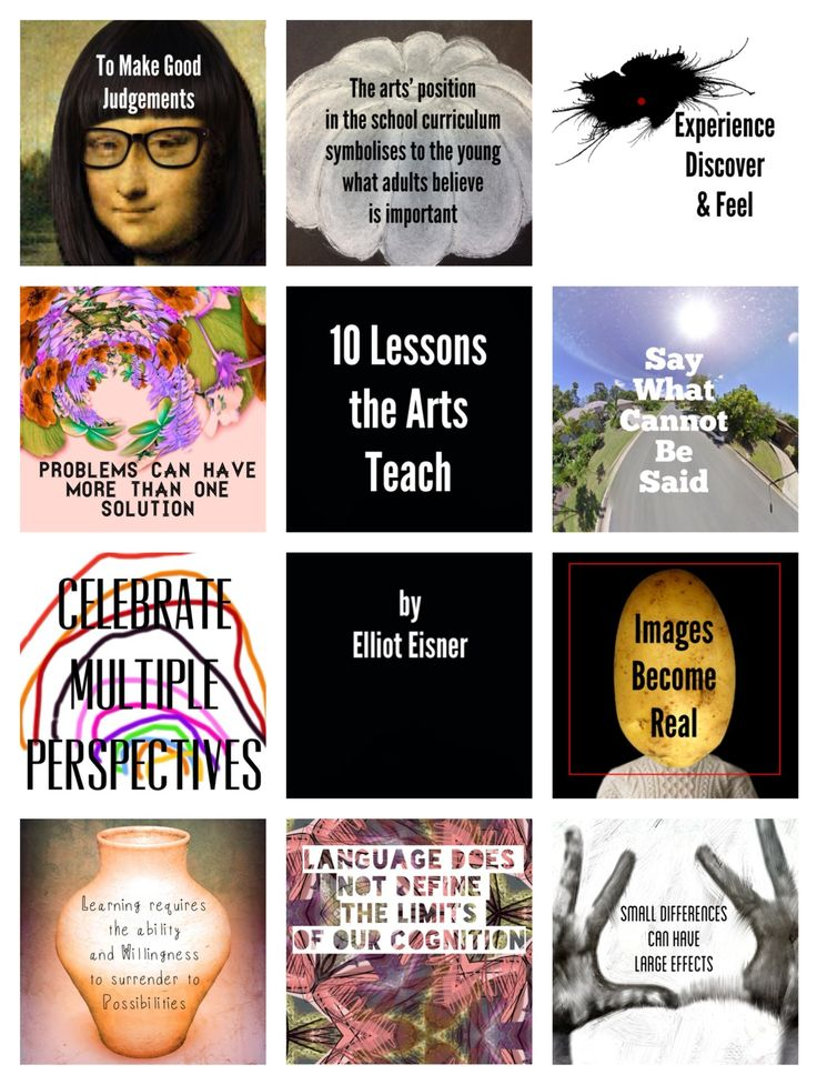 10 lessons the arts teach