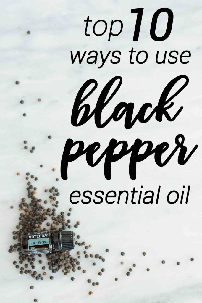 Don't let Black Pepper essential oil intimidate you. Check out this blog post to learn the top 10 ways Black Pepper can help your health and home.