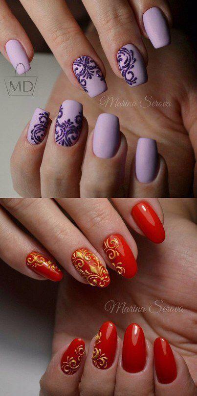 3d nail art patterns