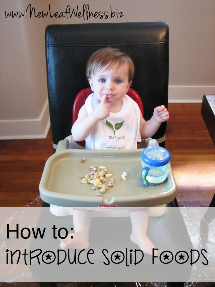 Everything you need to know about introducing solid foods.