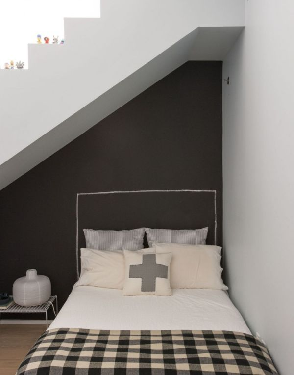bed under stairs - Google Search