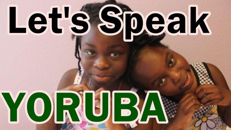 Let's Speak Yoruba : Nigerian Language | April 2nd 2014 DNVlogsLife