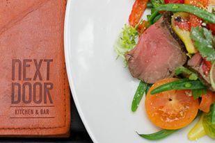 #TheBigEasys: Making Mondays simpler. #NextDoorKitchenBar #Lunchmenu #DineandDash #Brisbane #SouthBank #Steak http://www.nextdoorkitchenbar.com.au/
