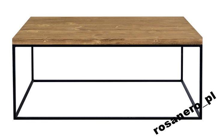 Stolik kawowy drewno szczotkowane -ROSANERO.COM.PL (5544999313) - Allegro.pl - Więcej niż aukcje.