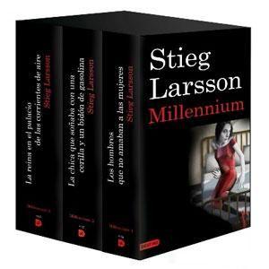 Millenium de Stieg Larsson. Empecé a leer estos libros luego del atentado realizado por el Nazi Anders Behring en Junio del 2011 en Noruega. Trata sobre femicidio, nazismo e influencias de poder.