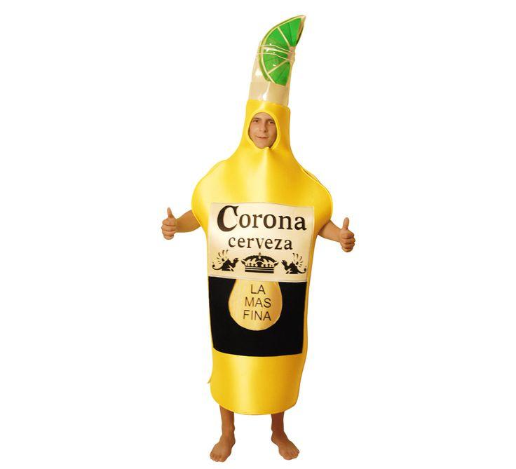 #Disfraz de #Botella de #Cerveza para Adultos talla Universal. #Coronita #DespedidadeSoltero #DespedidadeSoltera #Despedida #Despedidas #Fiesta #Boda