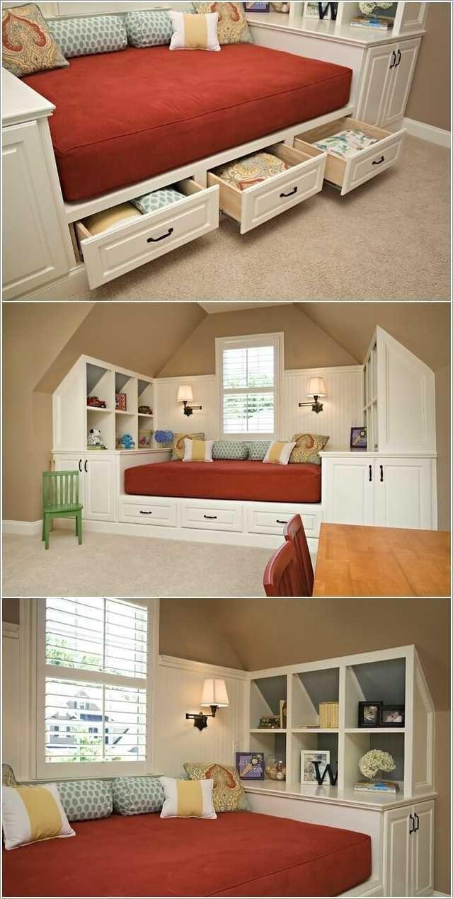 Imgur Post Imgur Built In Bed Home Furniture Design