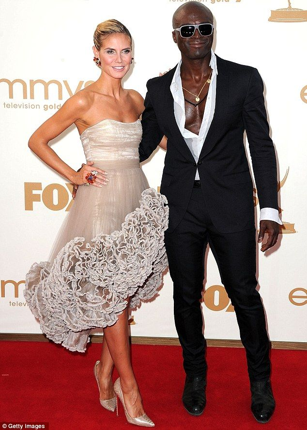 Heidi Klum and Seal, one of my FAV celebrity couples :)