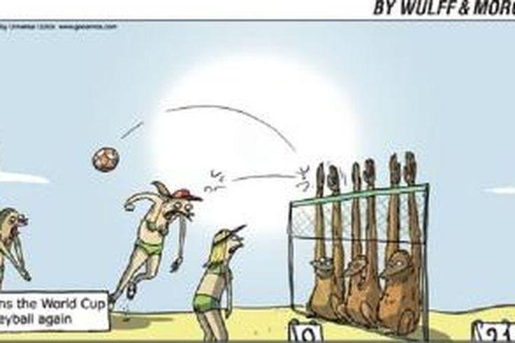 21 Gambar Kartun Bermain Volly Karikatur Rasial Soal Atlet Indonesia Kecewakan Menlu Download 200 Gambar Bola Voli O Di 2020 Gambar Kartun Kartun Gambar Bola Voli