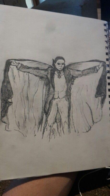 Dracula sketch #WW #Sketch