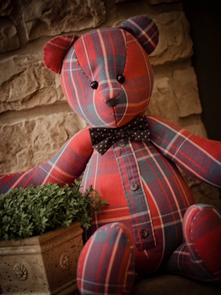 25 Best Ideas About Memory Bears On Pinterest Sewing