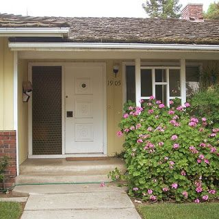 Mid Century Modern Front Porch