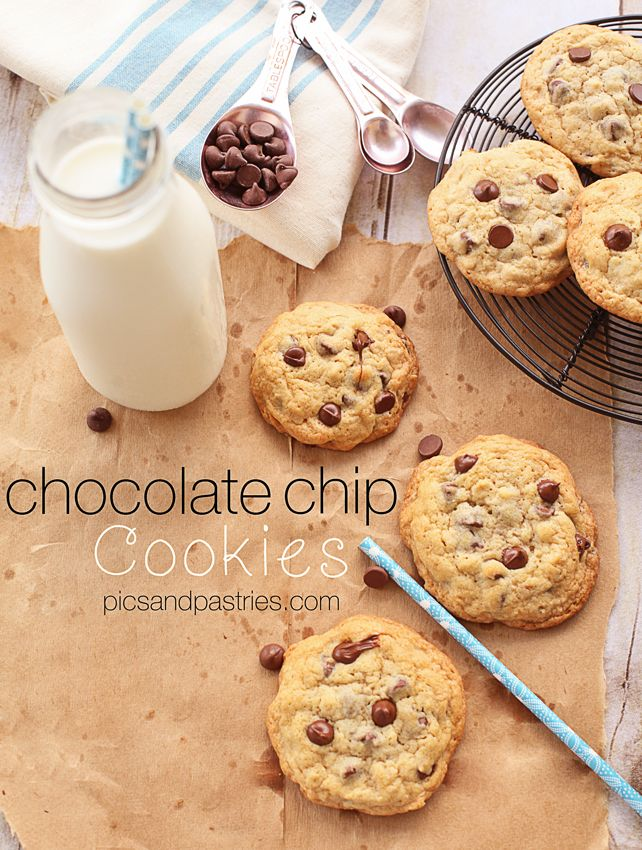 chocolate chip cookies (with toasted oats in the dough...so intriguing!)