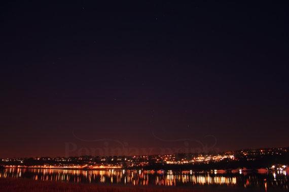 Stars above the city of Rochester by PopinjayPrints on Etsy, $17.00