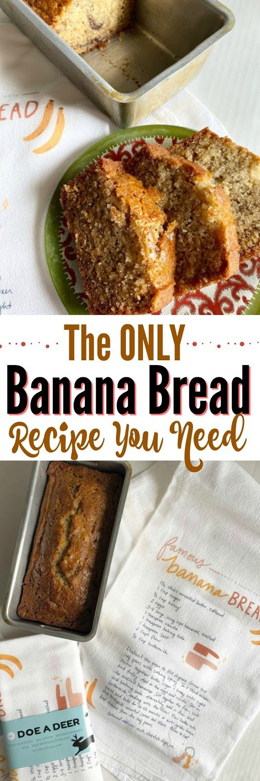 Today I'm sharing my Famous Banana Bread recipe + a brand new product that just was placed in my shop. You'll want to sn…