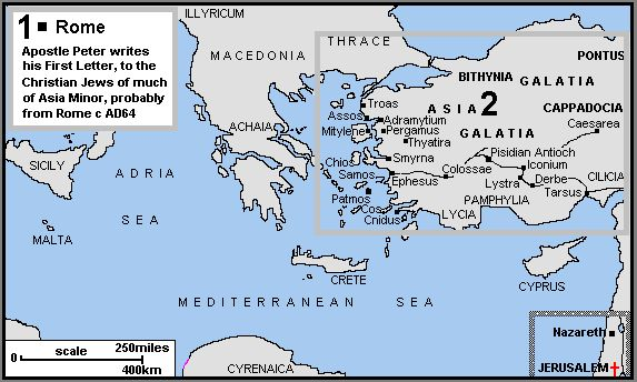 biblical maps of Revelation - Google Search
