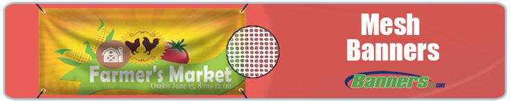 Mesh Banners for Windy Outdoor Locations from Banners.com