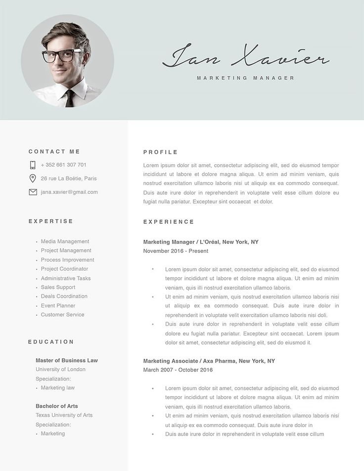 98 best 100 best resume templates ever by resumeway images