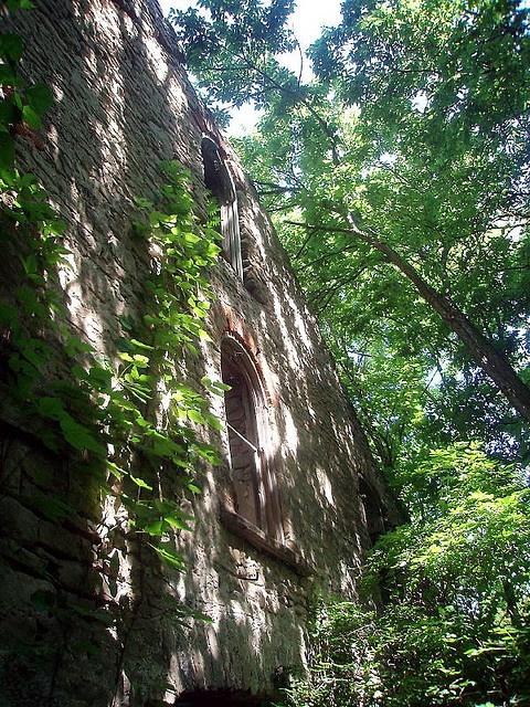 Abandoned Winery. Kelley's Island, Ohio.