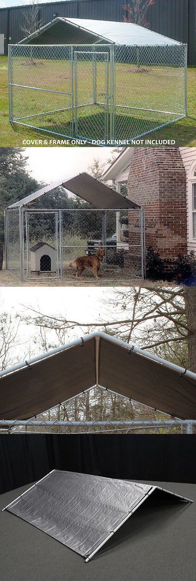Other Dog Supplies 11286: King Canopy 10X10 Dog Kennel Cover Only New -> BUY IT NOW ONLY: $71.12 on eBay!