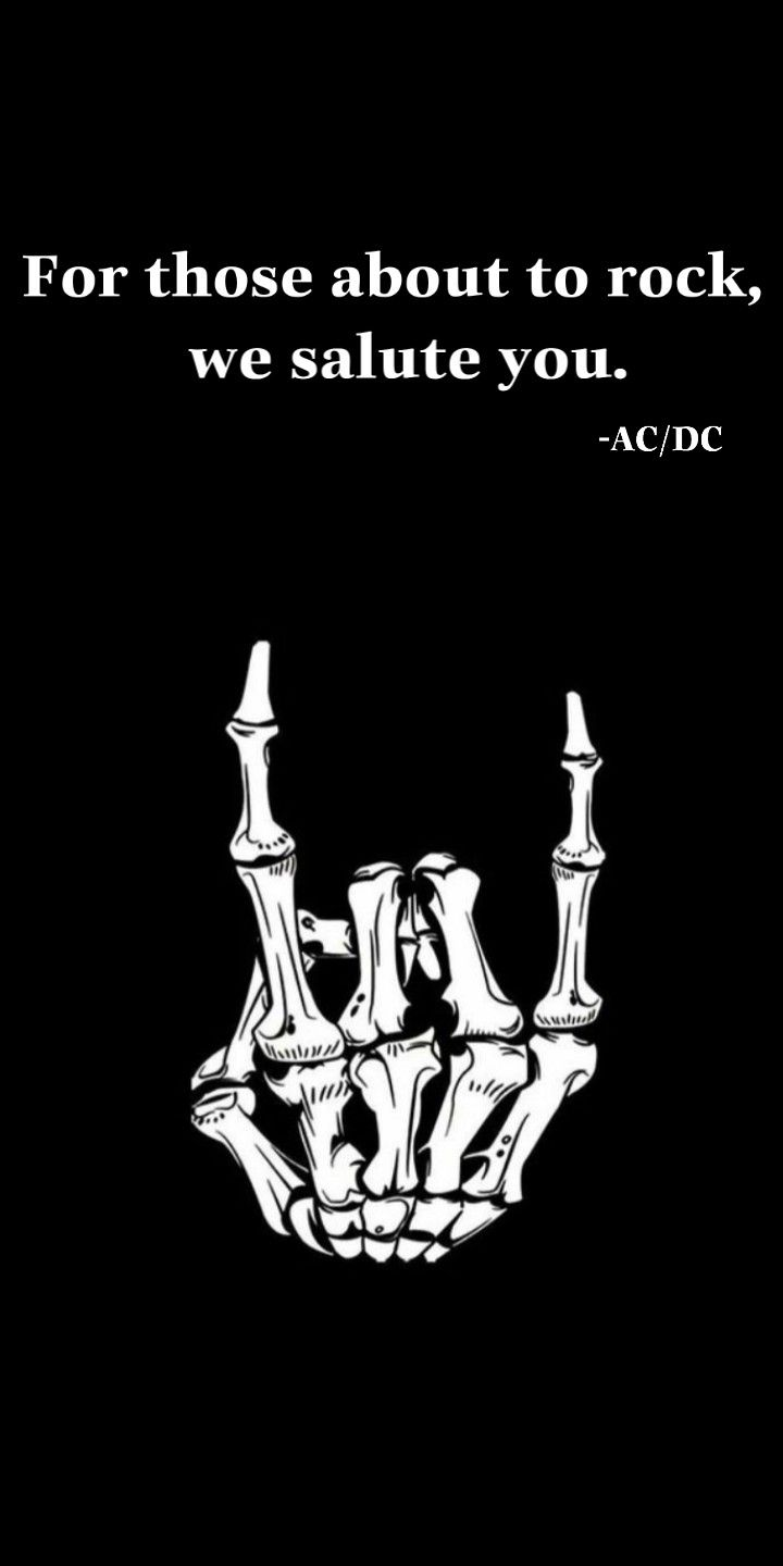 For Those About To Rock Ac Dc Made By Alexrichers With Images