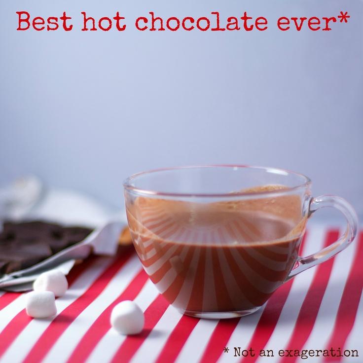 Best Ever Hot Chocolate Recipe — Dishmaps