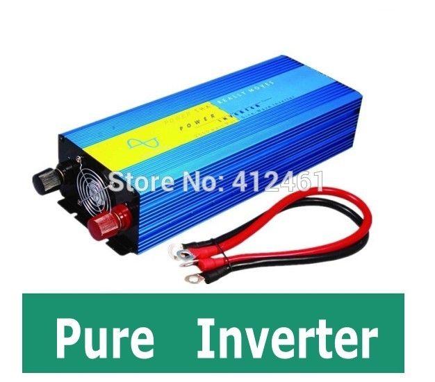 88.35$  Watch here - http://aligf5.worldwells.pw/go.php?t=32769993595 - 1200W Peak 600W invertitore puro Homeuse 1P air conditioner fridge inverter DC to AC 600W Inverter Pure Sine Wave Inverter