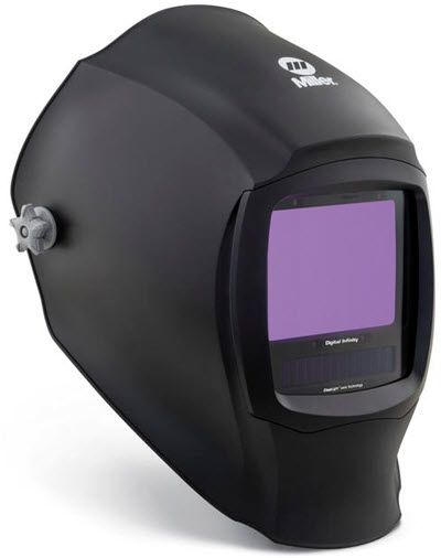 Miller Welding Helmet - Black Infinity ClearLight Lens 280045