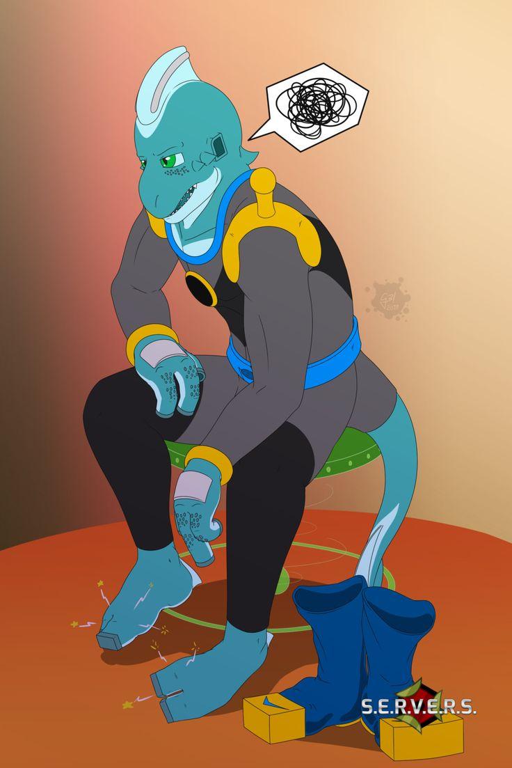 Relax (colored) | S.E.R.V.E.R.S., Yun González on ArtStation at https://www.artstation.com/artwork/aZqdk