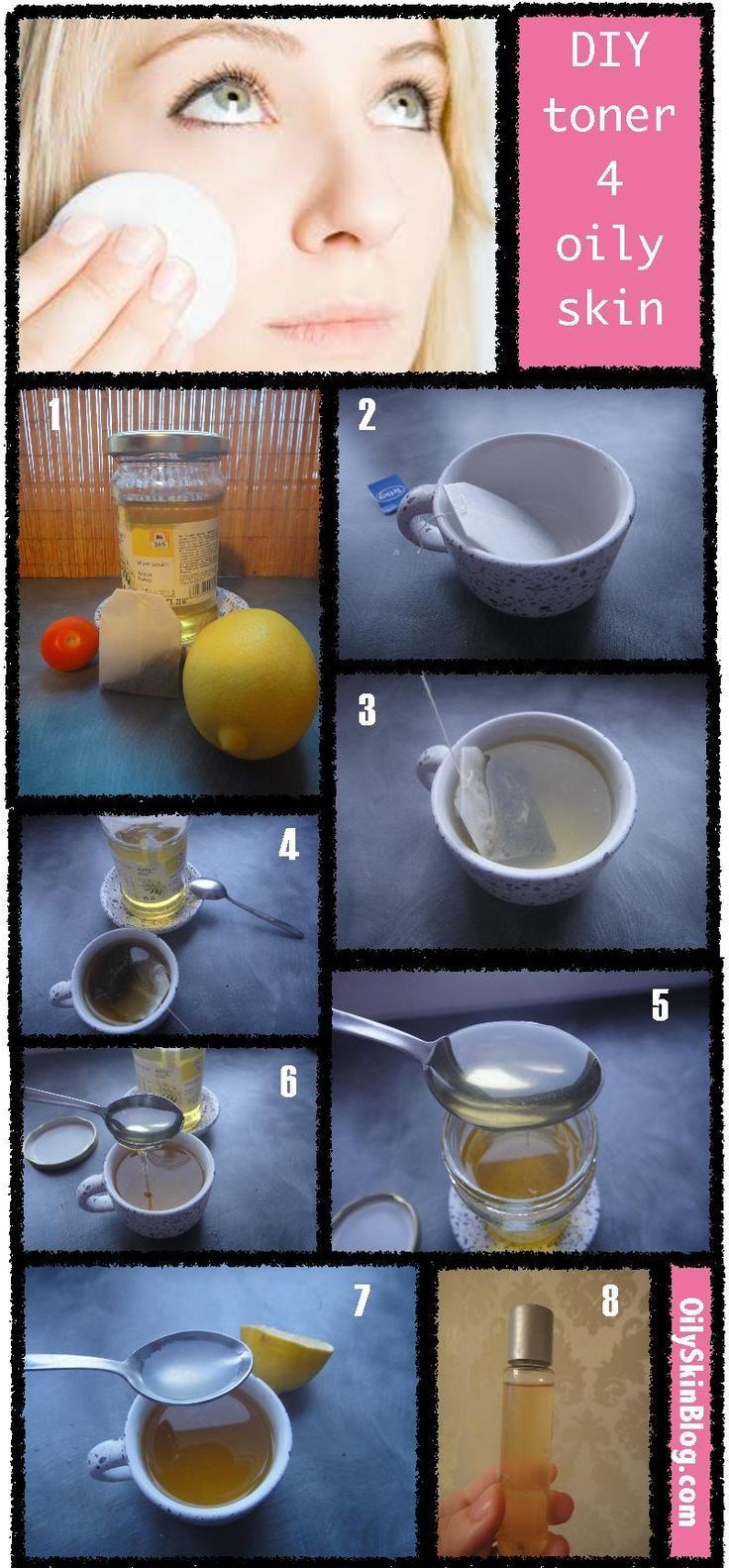 diy toner for oily skin.....this is certainly worth trying. I mean, if it works it will save me quite a bit of money :)