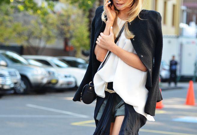 Sydney FW12: Fashion Weeks, Fashion Style, Style Inspiration, Black And White, Street Styles, Black White, Streetstyle Fashion, Sydney Fashion