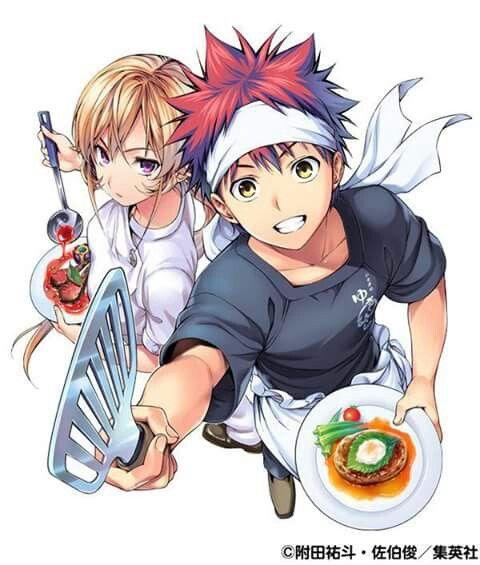 Nakiri and Yukihira
