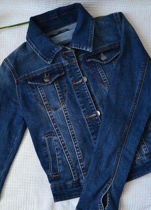 Kaufe meinen Artikel bei #Kleiderkreisel http://www.kleiderkreisel.de/damenmode/mantel-and-jacken-sonstiges/152436621-vintage-blue-denim-jacket-gr-sm